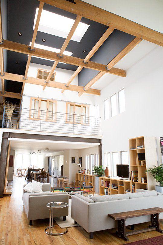 Loving that ceiling