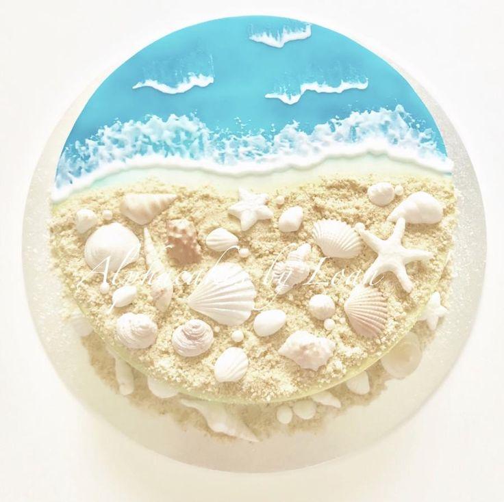 Sea Shells n Sand by Loan Phan