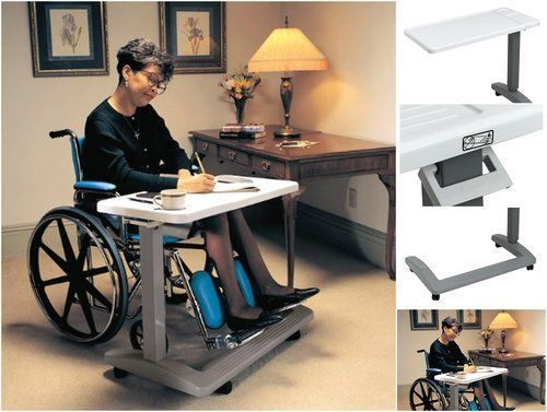 Hospital-Bed-Table-Adjustable-OverBed-Rolling-Laptop-Food-Swivel-Medical-Tray