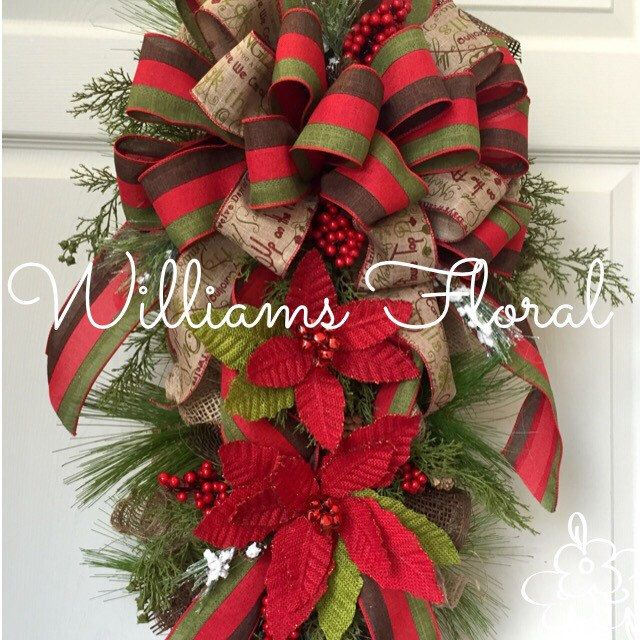 Christmas Swags Decorations: 236 Best Images About Christmas Wreaths On Pinterest
