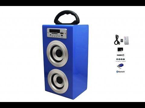 Altavoz Caja Portátil con Bluetooth, Radio, SD, USB, MP3, Inalámbrico y Con Batería Recargable - https://complementoideal.com/producto/altavoz-con-bluetooth-radio-sd-y-usb-modelo-9199/  -