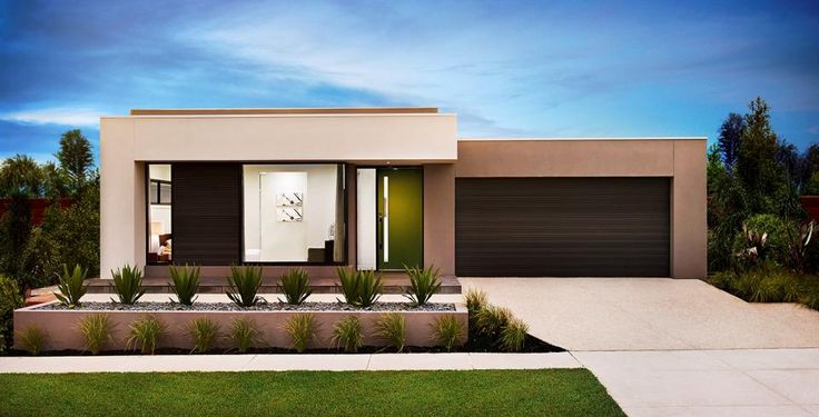 Best Boutique Homes Modern House Facades Flat Roof House 400 x 300