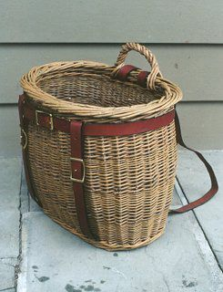 Basket Backpack is a must-make for biking to the South of the James Market.