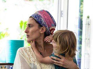 Paola Carosella e a filha Francesca