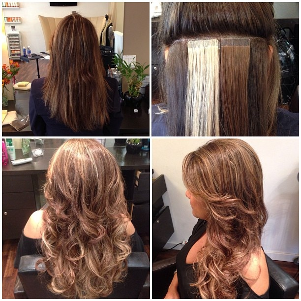 19 best hotheads hair extentions images on pinterest extensions before and after seamless tape hair extensions pmusecretfo Image collections
