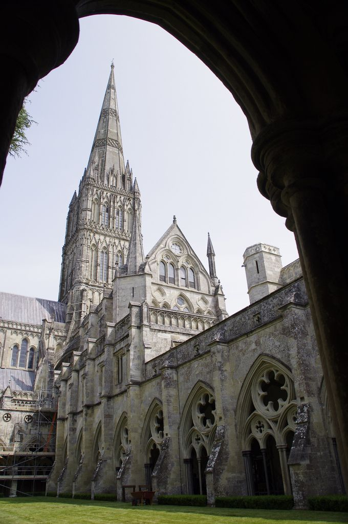 Salisbury Cathedral, Wiltshire, England by mrijntjes