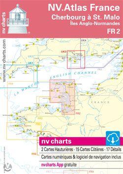 NV Atlas Frankrijk FR2 - Kust van Zuid Normandie