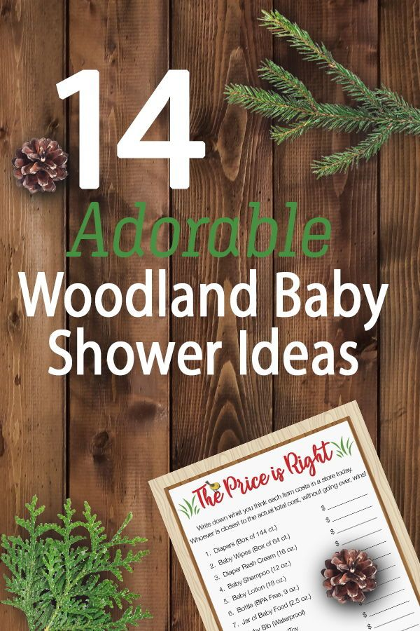 c1ac7d57c532 14 Adorable Woodland Baby Shower Ideas