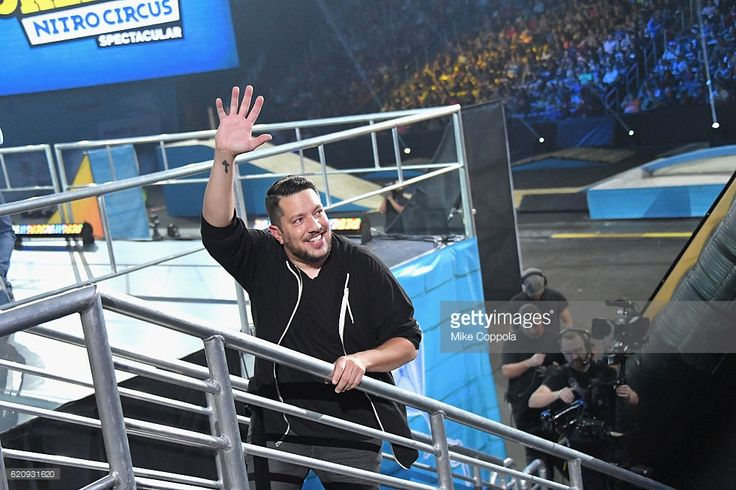Sal Vulcano speaks during Impractical Jokers Live: Nitro Circus Spectacular at Prudential Center on November 3, 2016 in Newark, New Jersey. JPG