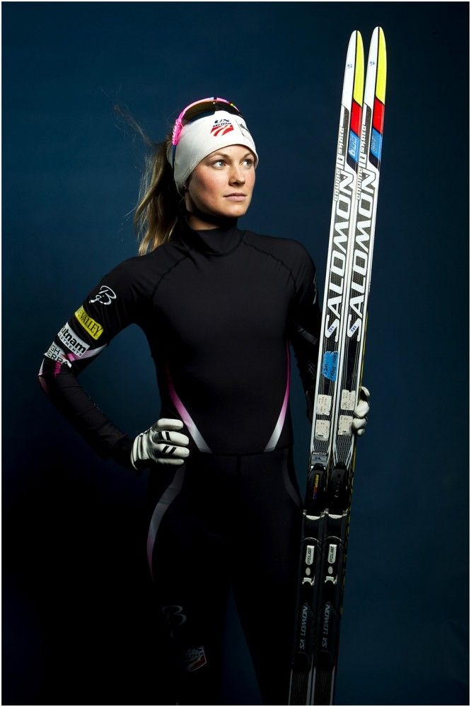 Cross country skiing athlete Jessie Diggins