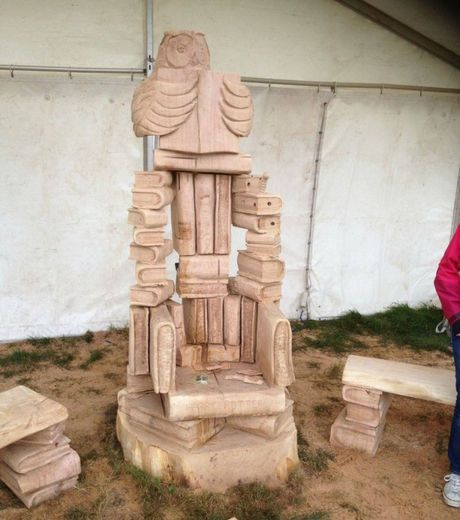 Best images about chainsaw wood carving chair design