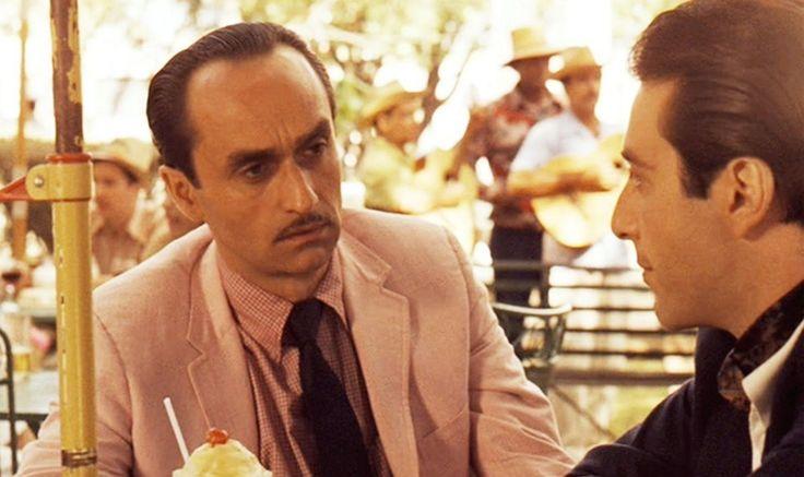 John Cazale as Fredo Corleone and Al Pacino as Michael Corleone in 'The Godfather: Part II'