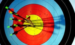 Archers practice their aim or learn archery basics on indoor shooting ranges, and under the guidance of a level 3 archery coach