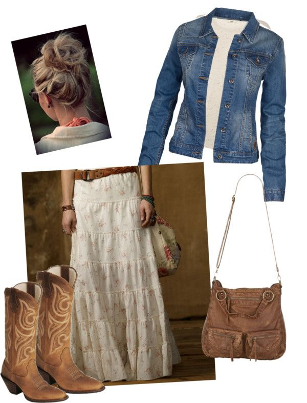 """Casual Country"" by daisyhedo on Polyvore"