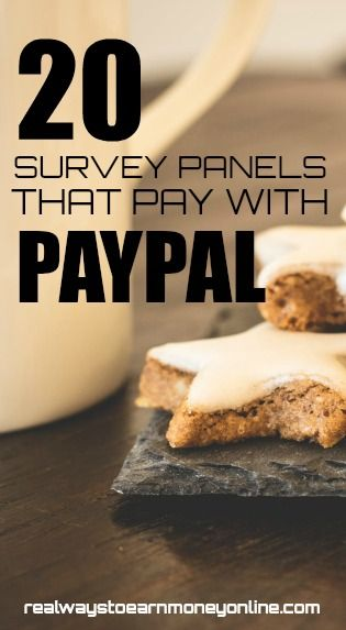 20 Ways to Take Online Surveys And Get Paid Via Paypal via @RealWaystoEarn