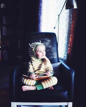 This little cutie in the Joya Rocker. (Image credit:@livingnotes Instagram) #Modernnurseryfurniture #beyondthenursery