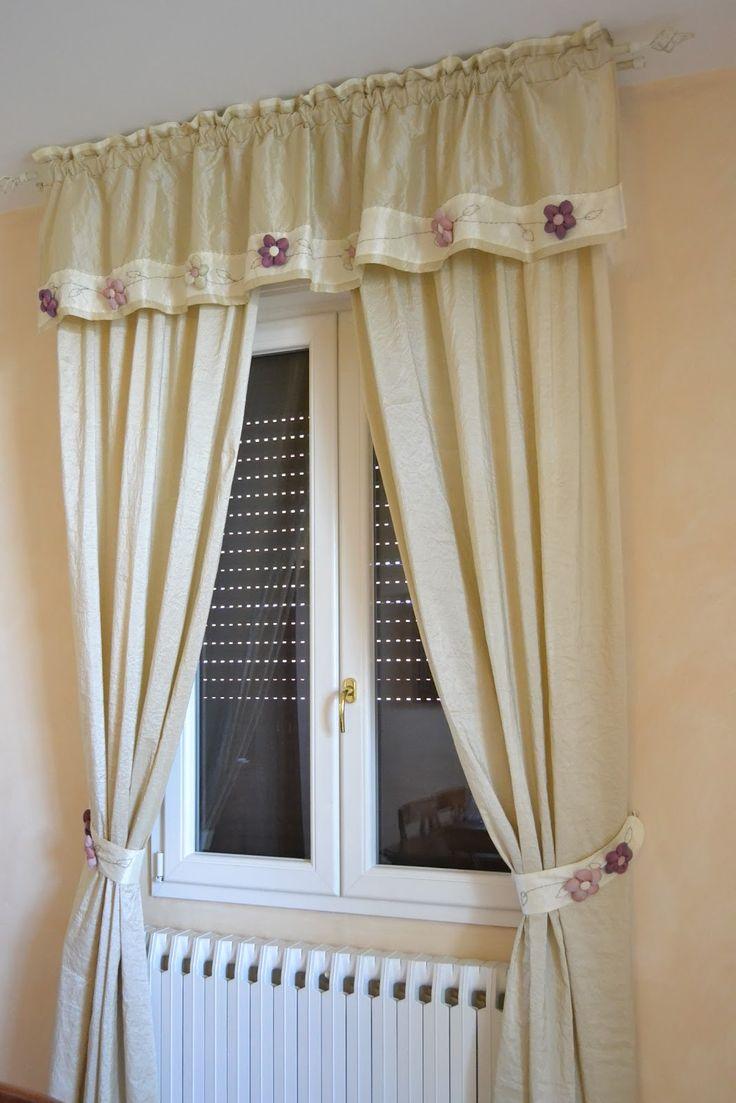Tende rustiche per cucina good ciliege sulle finestre dalla cucina with per cucine rustiche - Tende rustiche per cucina ...