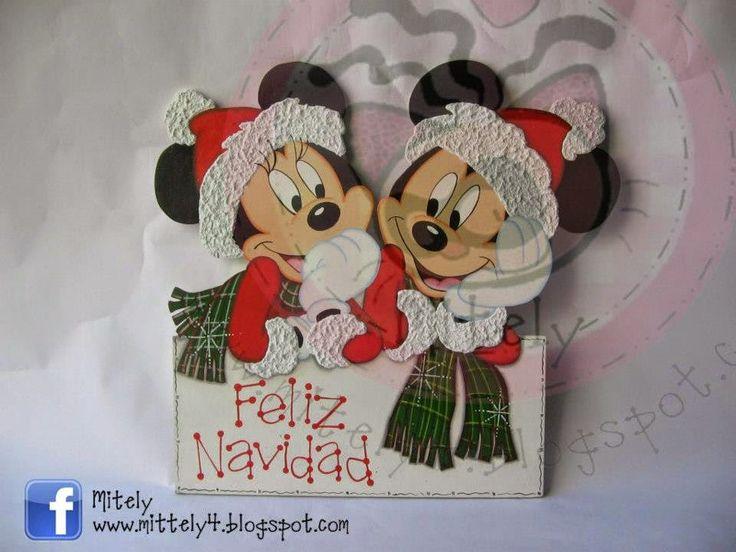 Merry Christmas with mickey and minnie!!! #micky #disney #minnie #merrychristmas #mitely