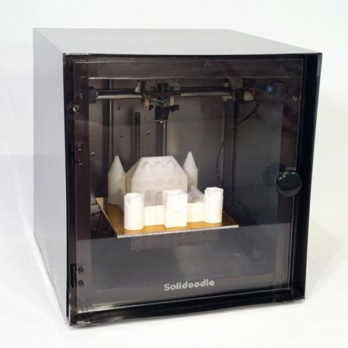 $499 Fully Assembled Solidoodle 3DPrinter