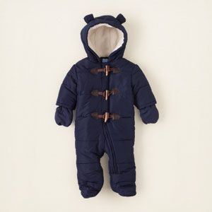 toggle snowsuit Grayson will be super cute int this cant wait till winter