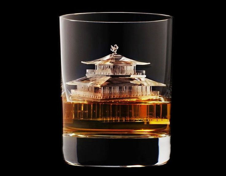 One Japanese whiskey company is taking the ?on the rocks? part of a drink to an epic new level. Suntory Whiskey, which movie buffs may recognize from Sophia Coppola?s Lost in Translation, used a form of inverse 3D printing to carve extremely intricate ice cubes as a part of an advertising campaign. A CNC router carved the designs into ice blocks. Check out this video, showing the sculpting in action.