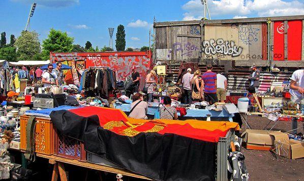 Alan Feldstein snapped this photo of Berlin's Mauerpark flea market, great for shopping and offbeat discoveries.