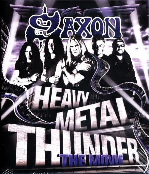 SAXON - HEAVY METAL THUNDER - THE MOVIE / BLU-RAY
