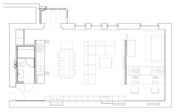 Minimalistyczne mieszkanie w Nikiszowcu w Katowicach. Projekt: MUS ARCHITECTS.