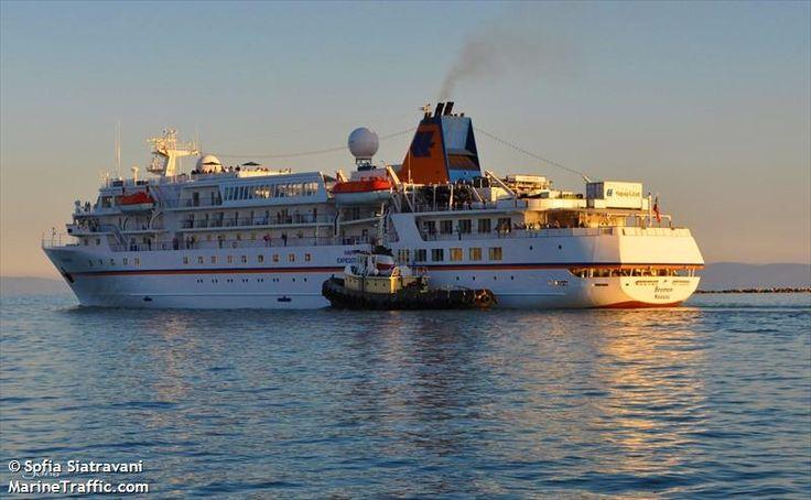 Το Bremen αποπλέει από το λιμάνι του Βόλου. 01/10/2014.