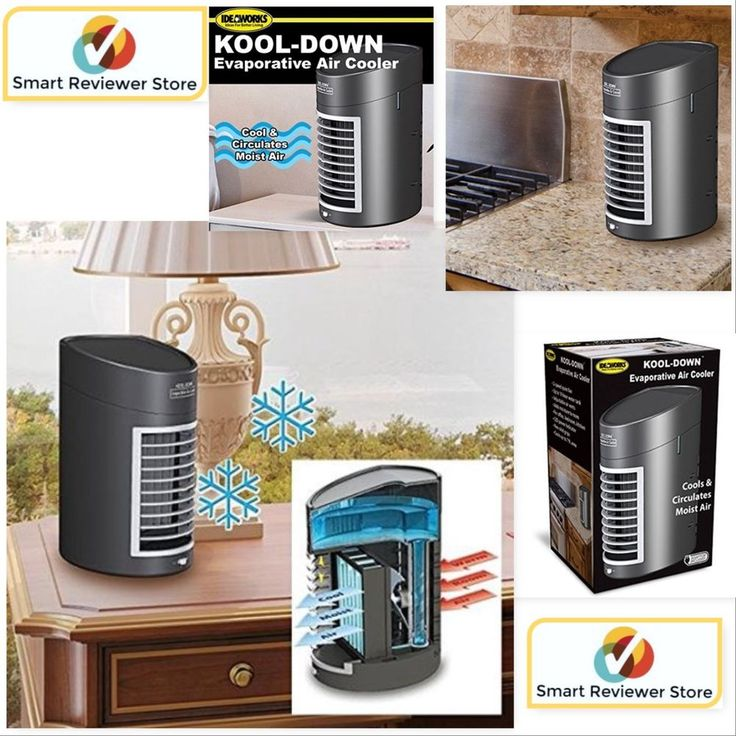 Portable Evaporative Air Cooler Fan Portable Home Office Small Air Conditioner #Ideaworks