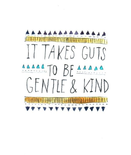 It really does take a strong confident person to be kind! Be that person today #Kind