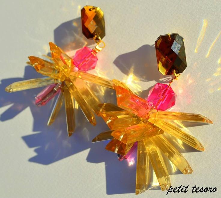 Juicy summer handmade earrings!