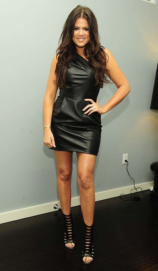 Khloe-Kardashian, my favorite sister! Cute dress too boy she so hot sexly beautiful  lady