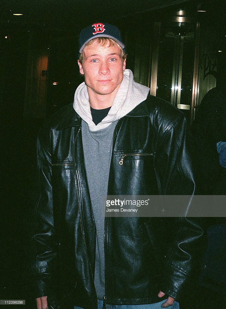 Brian Littrell during Backstreet Boys Sighting in New York City in October 2000 at New York City in New York City, New York, United States.