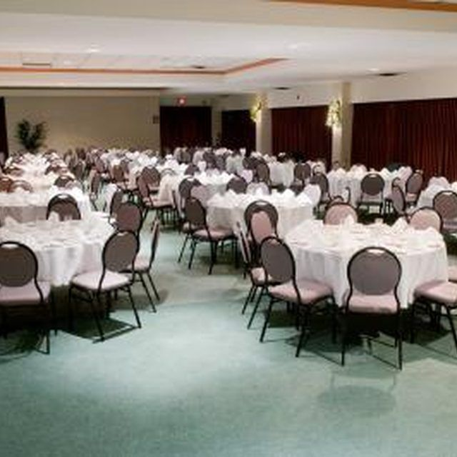 You can find a cheap banquet hall with careful planning.