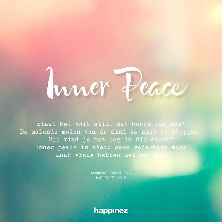 Inner peace l Happinez