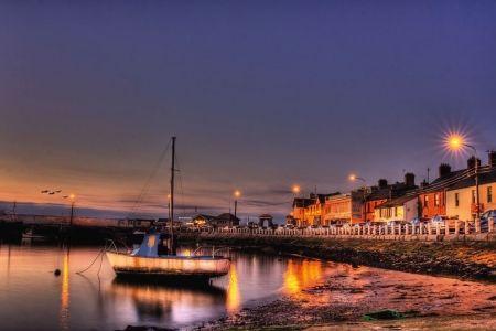 Skerries Harbour by Night, Paul Nesbitt (Rush, Ireland ...