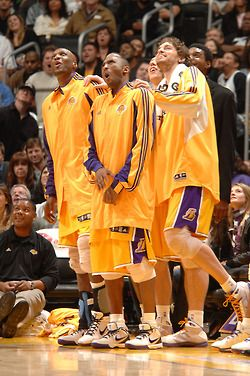 Lakers Kobe Bryant Pau Gasol Lamar Odom Lakers Dynasty