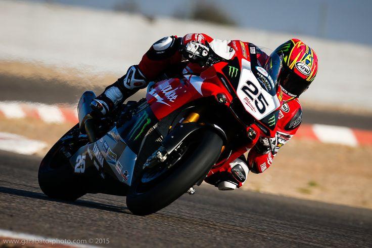Test primeras Yamaha R1 M de SBK, Superstock y Resistance. Circuito de Alcarras.