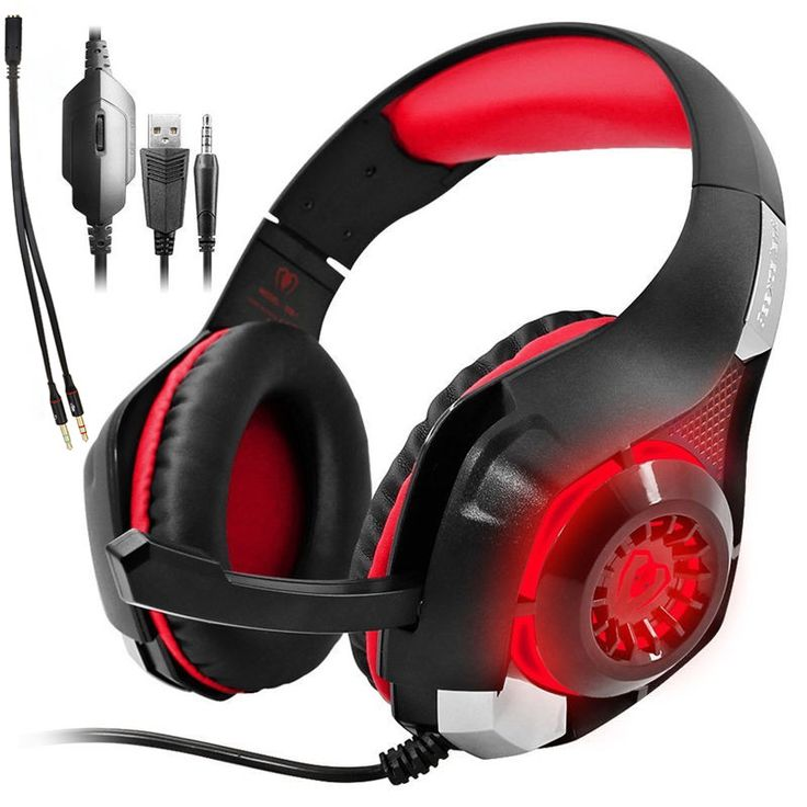 - Perfect audio effect and noise reduction microphone.High precision 40mm driver, bring you vivid sound field, sound clarity, sound shock feeling, capable of various games. - Comfortable to wear.This