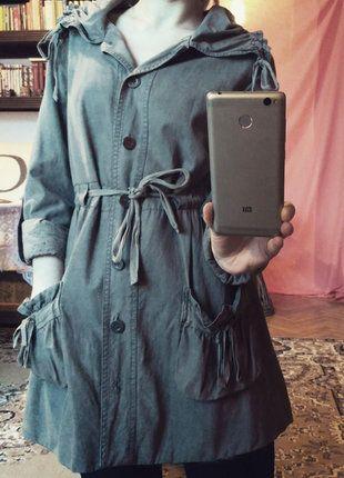 Kup mój przedmiot na #vintedpl #wiosenny #płaszcz #krótki #khaki #rękawy 3/4 #szary http://www.vinted.pl/damska-odziez/plaszcze/17860700-krotki-wiosenny-plaszcz-promod-rekawy-34