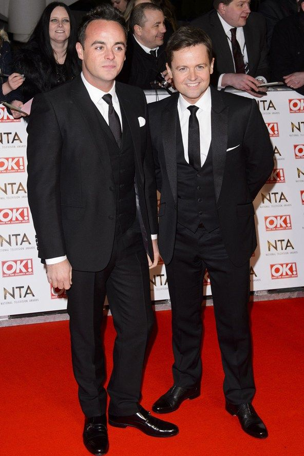 Ant  Dec NTAS in matching suits