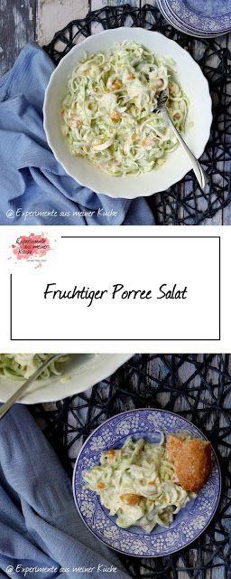 Fruchtiger Porree Salat – Blogger's Best Round-Ups