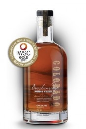 Breckenridge Bourbon Whiskey.  I added this to the whisky cabinet after one taste.