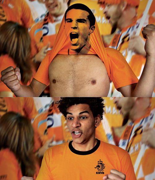 dutch football federation t-shirts by amsterdam-based creatives bas van de poel and daan van dam