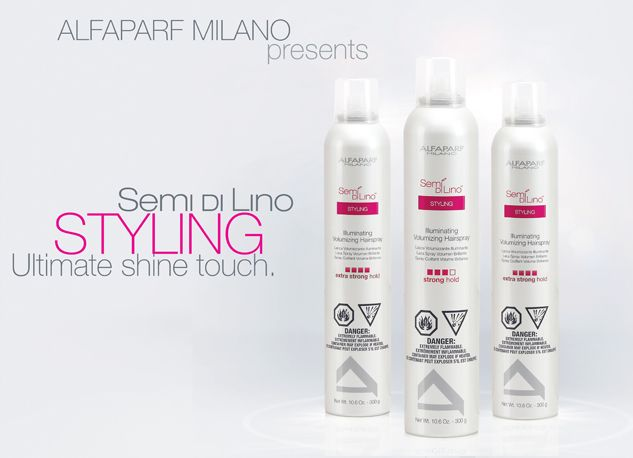 Over two decades ago, researchers at ALFAPARF MILANO's Research & Development labs tapped the unique properties of Flax Seed to maintain and add unparalleled shine to hair. With this innovation was born SEMI DI LINO, Italian for this hero ingredient: Flax Seed.  Now we present the new SEMI DI LINO Styling!  Learn more: http://usa.alfaparf.com/section/products-and-services/semi-di-lino-styling