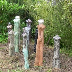 Margaret Sumich – Tread Lightly - Harbourview Sculpture Trail 2012