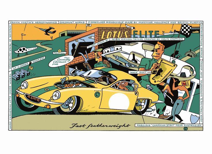 Ever Meulen Illustration for Humo 2500 by Ever Meulen 1988