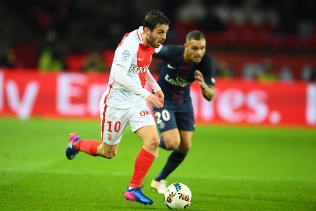 Football - Ligue 1 - Bernardo Silva a égalisé dans le temps additionnel. (J. Prevost/L'Equipe)