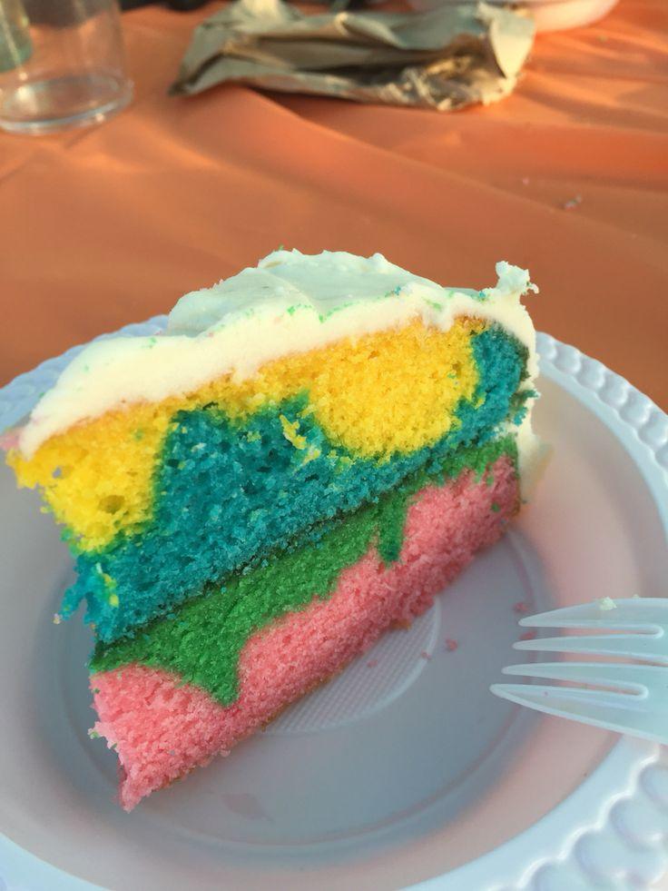 Pop's 80th birthday cake. Yumm
